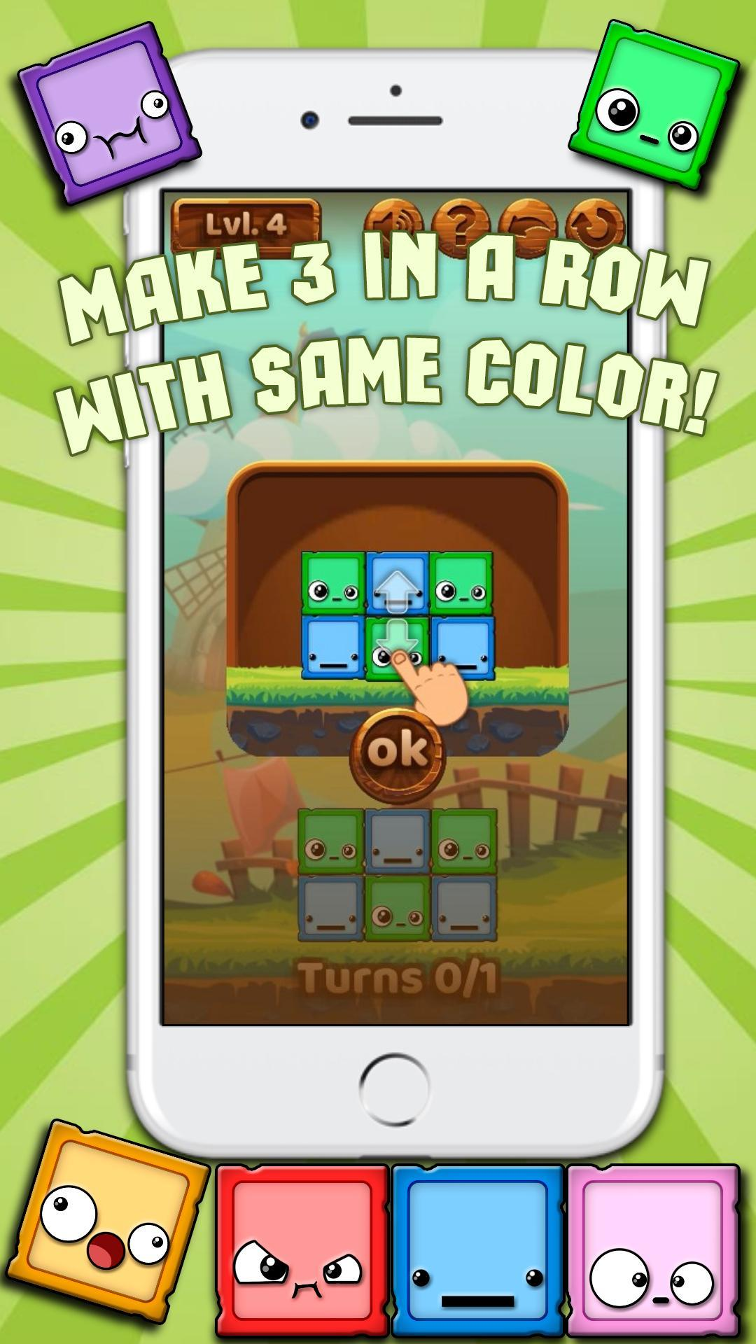 Match 3 Games: Cubes! for Android - APK Download