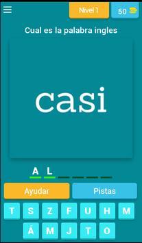 Spanish to English Fun Quiz poster