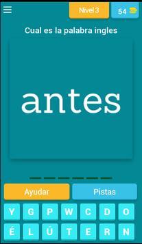 Spanish to English Fun Quiz screenshot 3