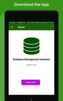 SQL and Database Tutorial– Absolute Beginners apk screenshot