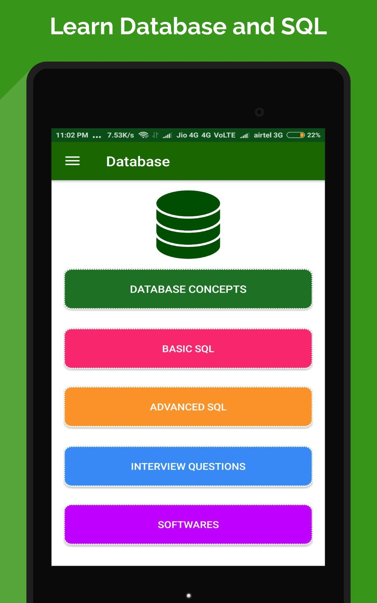 SQL and Database Tutorial– Absolute Beginners for Android