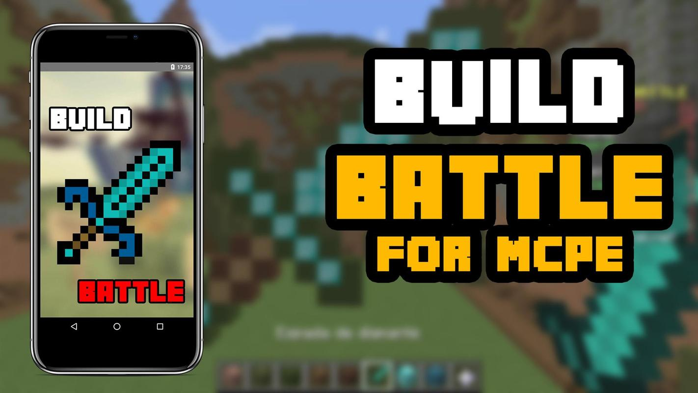 mod minecraft pe build battle server
