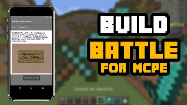 Build Battle Map for MCPE screenshot 1