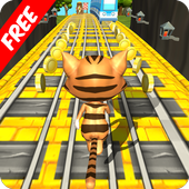 Subway Leo Cat Run Dash - Gold icon