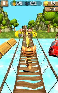 Subway Leo Cat Run Dash - Gold apk screenshot