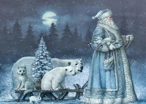 Christmas Retro Imagenes poster