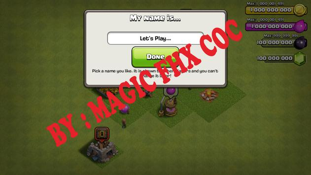 FHX-SERVER COC MAGIC apk screenshot