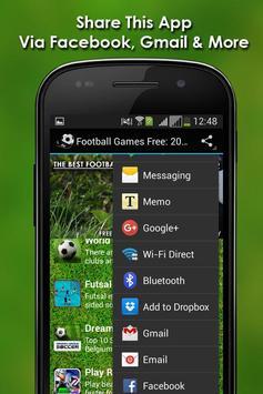 Football Games Free: 2016 apk screenshot