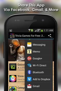 Trivia Games For Free: Updated apk screenshot