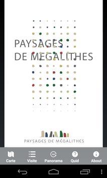 Paysages de Mégalithes poster