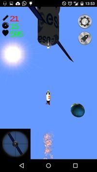 Rokete 3D Lunar Rocket poster
