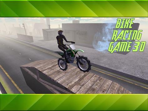 Bike Racing Game 3D poster