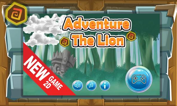 Adventure The Lion New poster