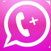 الواتساب الوردي + الجديد 2018 icon