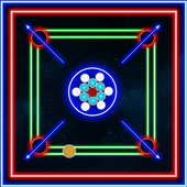 Laser Carrom: Real Carrom Pro icon