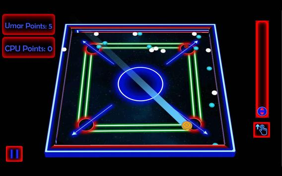 Laser Carrom: Real Carrom Pro screenshot 3