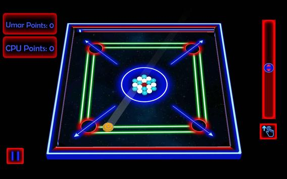 Laser Carrom: Real Carrom Pro screenshot 2