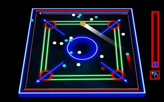 Laser Carrom: Real Carrom Pro screenshot 4