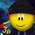 Run Emoji Run: 3D Flashy Space Road Survival