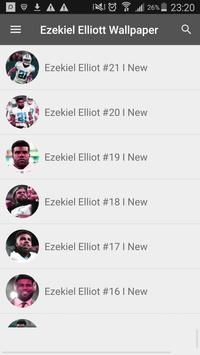 Ezekiel Elliott Wallpaper NFL screenshot 4