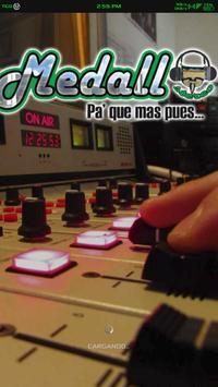 Medallo Stereo poster