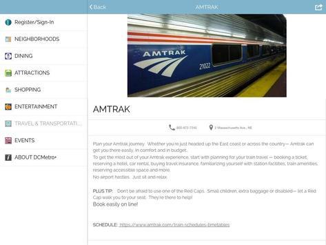 Washington Guide by DCMetro+ apk screenshot