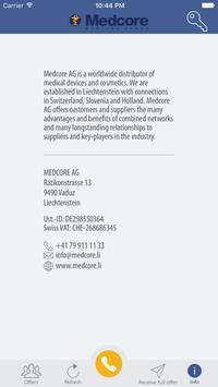Medcore AG apk screenshot