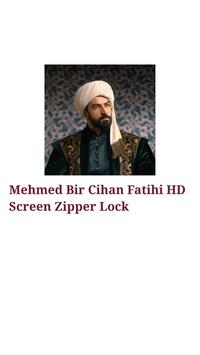 Mehmed Fatihi HD Screen Zipper Lock-  محمد الفاتح screenshot 1
