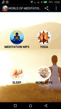 Meditation MP3 (anti-stress): Meditate,Sleep,Relax poster