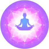 Yoga, meditation secrets icon