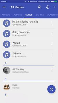 M4A Music Player screenshot 2