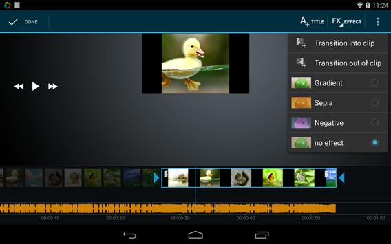 Video Maker Movie Editor screenshot 13