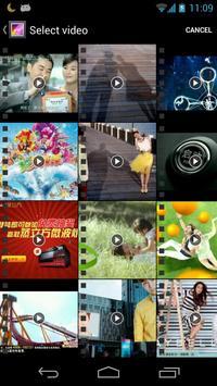 Video Maker Movie Editor screenshot 1