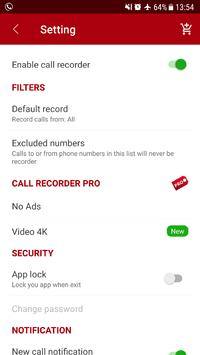 Auto call recorder screenshot 10