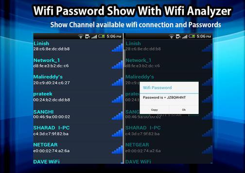 Wifi Password Show & wifi Analyzer 2019 for Android - APK