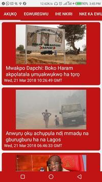 Akụkọ: BBC Igbo screenshot 1