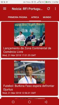 Noticia: RFI Portugues screenshot 4