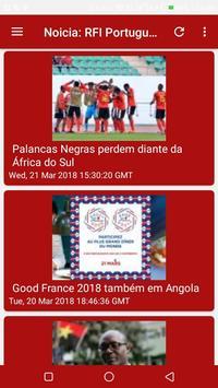 Noticia: RFI Portugues poster