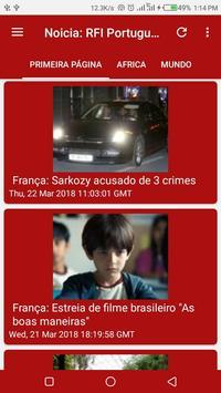 Noticia: RFI Portugues screenshot 2