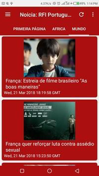 Noticia: RFI Portugues screenshot 3