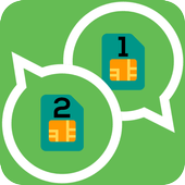2 Lines For WhatsApp Simulator icon