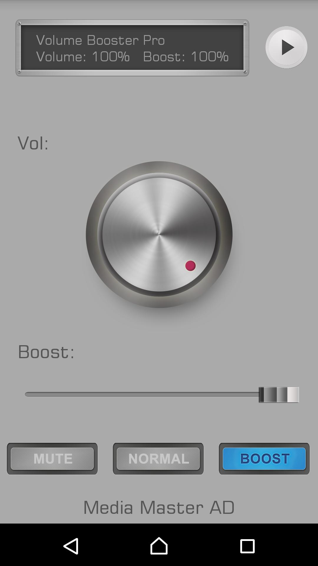 Volume Booster Pro for Android - APK Download