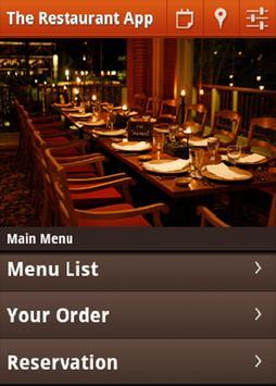 Cafe & Restaurants app demo poster