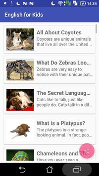 Kids Learn English Pro apk screenshot