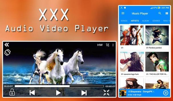 xxx Audio Video Player (Music & Video Player) screenshot 6