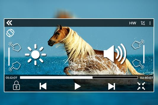 HD Video Player screenshot 1