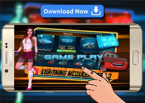 Racing McQueen Lightning Cars 4 apk screenshot
