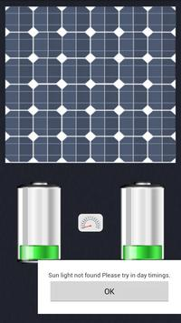 Solor Battery Charger Prank poster