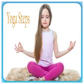 Yoga Steps icon