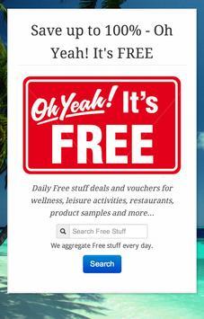 Get Free Stuff & Samples poster